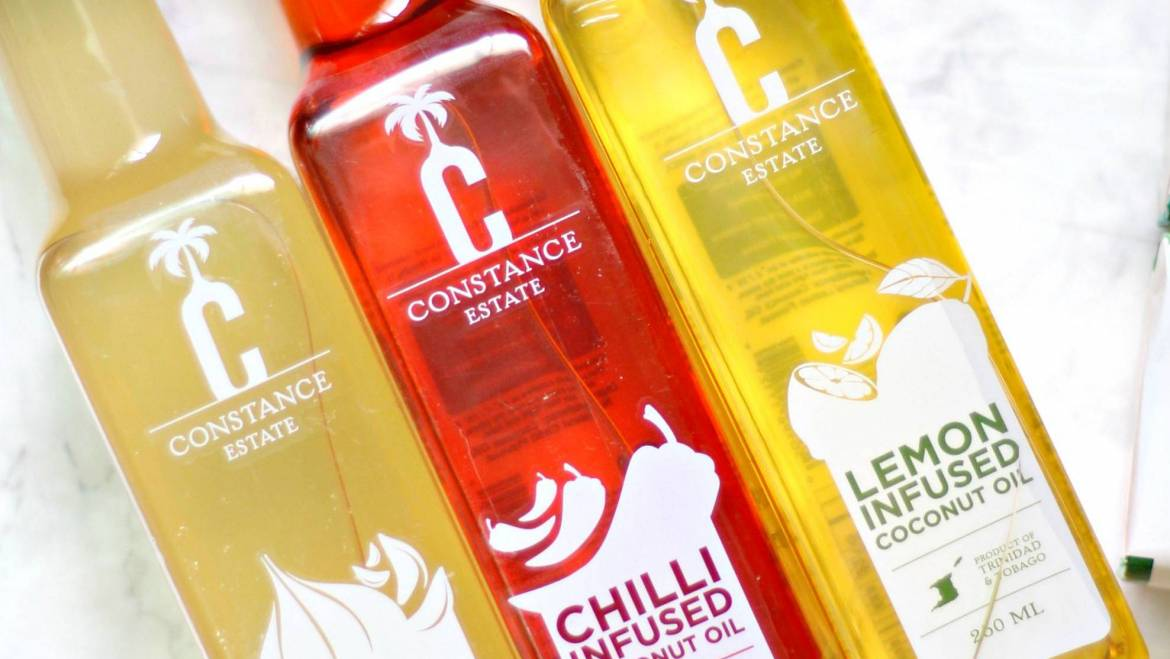Express Business Feature on Constance Estate Infused Coconut Oils