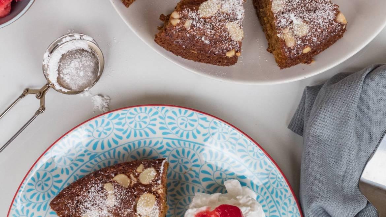 Strawberry Almond Tea Cake Recipe