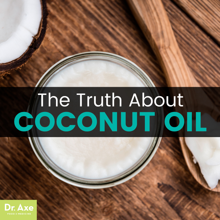 The Truth about Coconut Oil – Dr. Axe