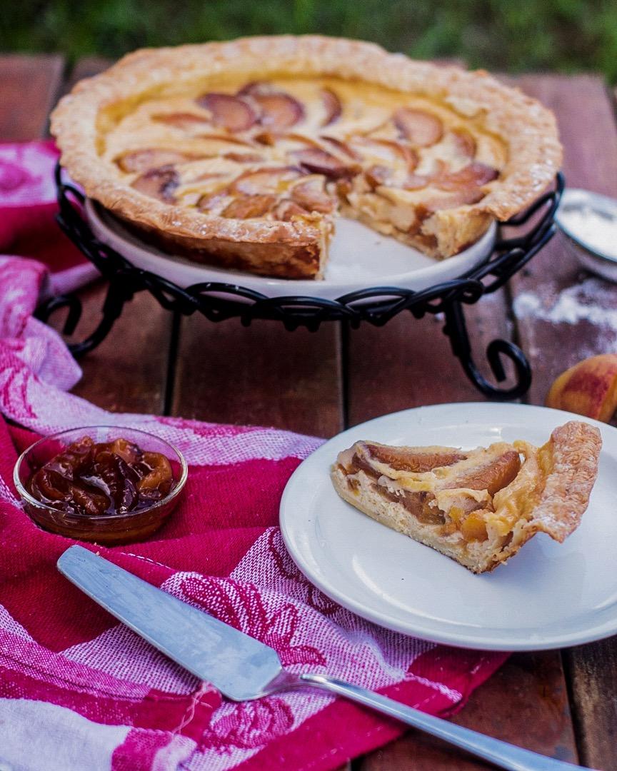 Ponche de Creme Custard Pie Recipe