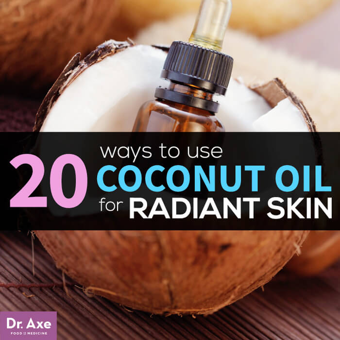 20 uses of Coconut Oil by Dr. Axe