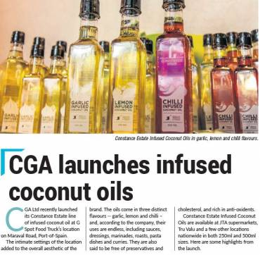 Newsday Business Feature on CGA