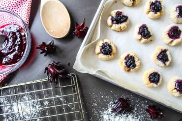 Gluten Free Sorrel Cookies by Off The Wheaten Path