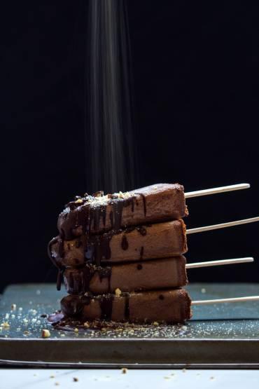 Vegan Mocha Fudge Popsicles Recipe
