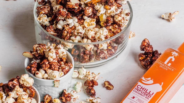 Chilli Chocolate Popcorn Recipe