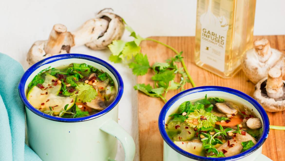 Vegetable and Beef Bone Broth Recipe