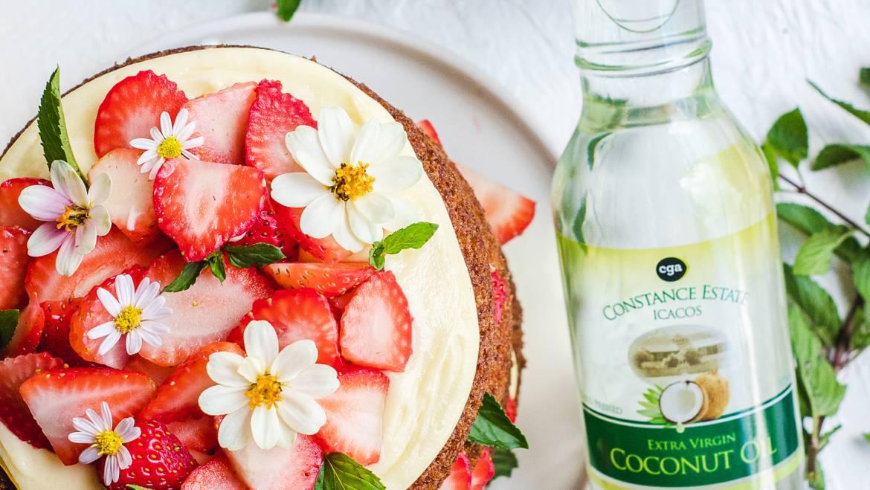 Strawberry Carrot Cake Recipe