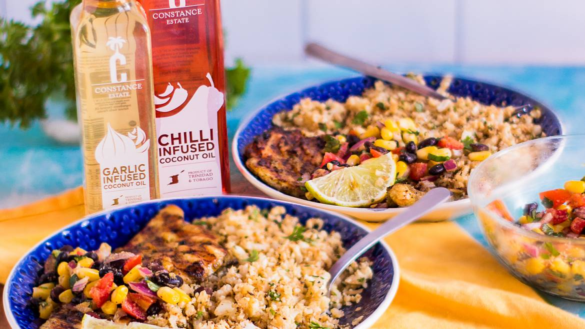Chilli-Citrus Chicken with Corn Salsa Recipe