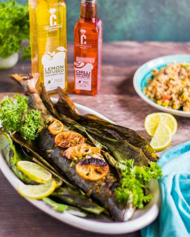 Banana Leaf Grilled Fish Recipe