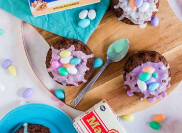 Chocolate Easter Baskets Recipe
