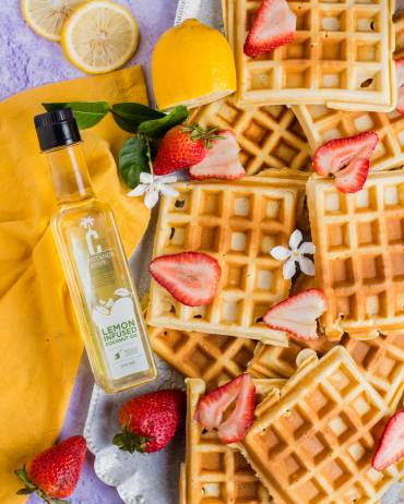 Mother's Day Lemon Waffles