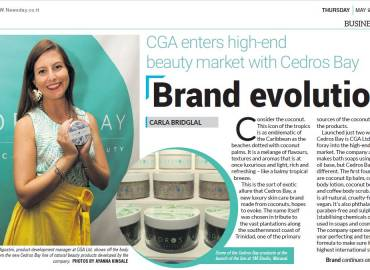 Cedros Bay Feature in Newsday Papers