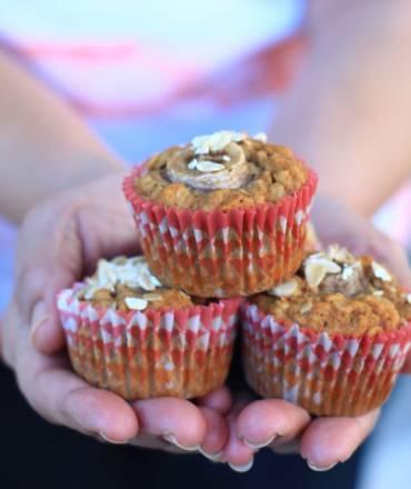 Gluten Free Banana-Oat Muffins Recipe