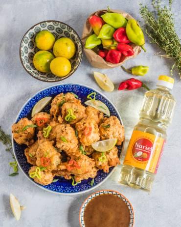 Saltfish Accra Recipe
