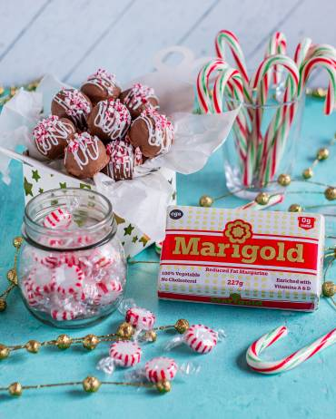 Chocolate Covered Peppermint Truffles
