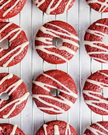 Gluten Free Red Velvet Baked Donuts