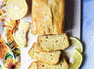 Gluten Free Grapefruit Pound Cake