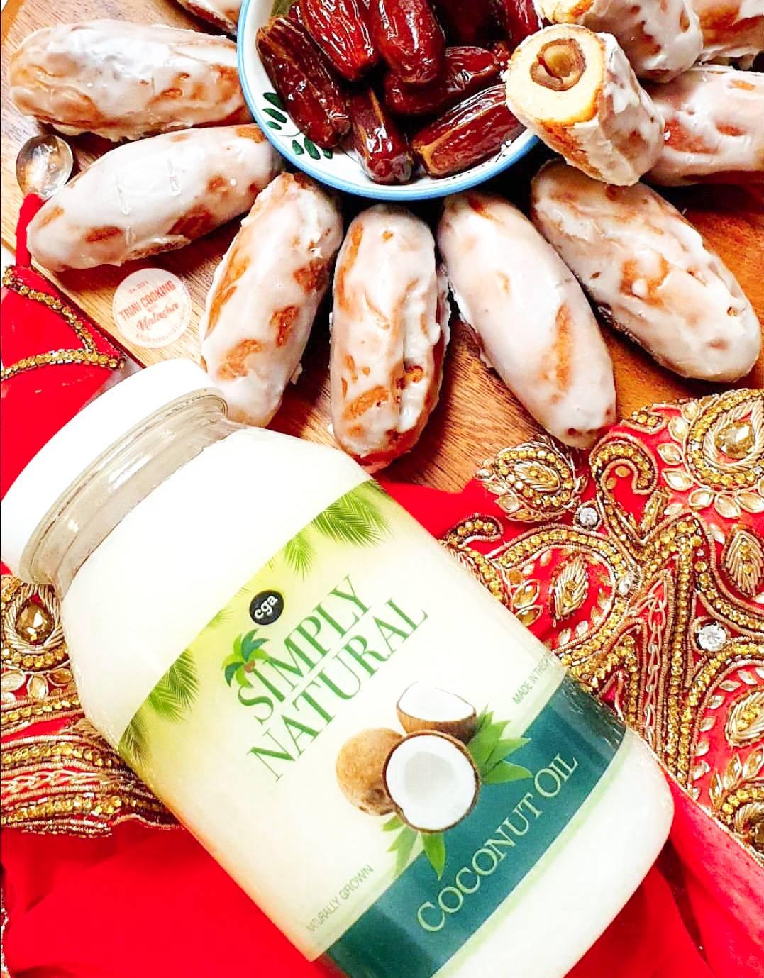 Date-Stuffed Gulab Jamoon