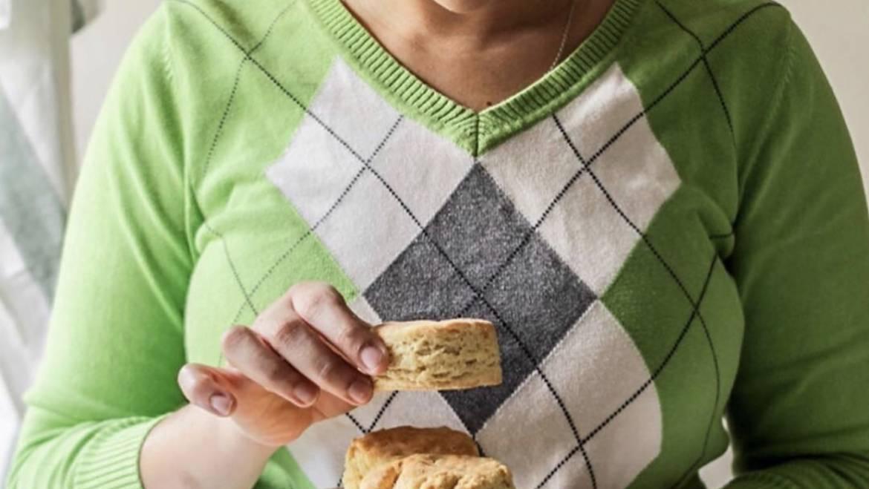 Gluten Free Yogurt Cheddar Biscuits