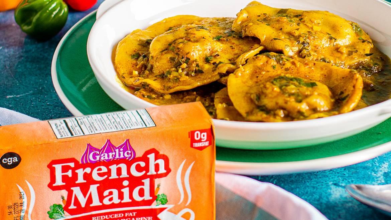 Stuffed Curry Crab Dumplings