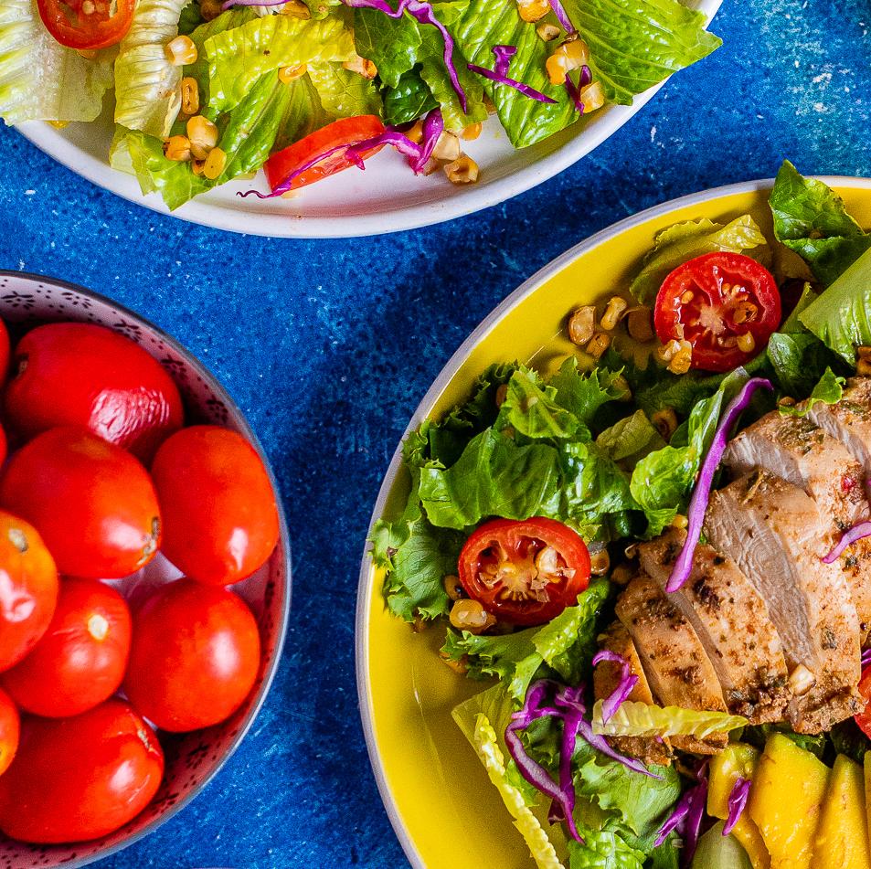 Roasted Chicken Market Salad