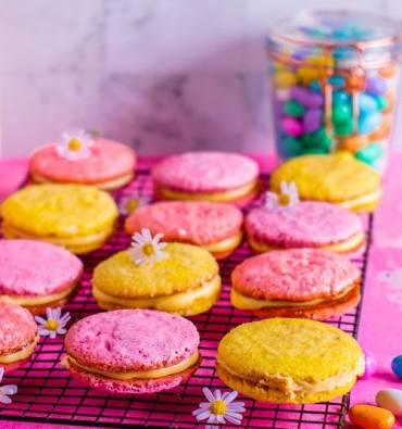 Easter Sandwich Cookies