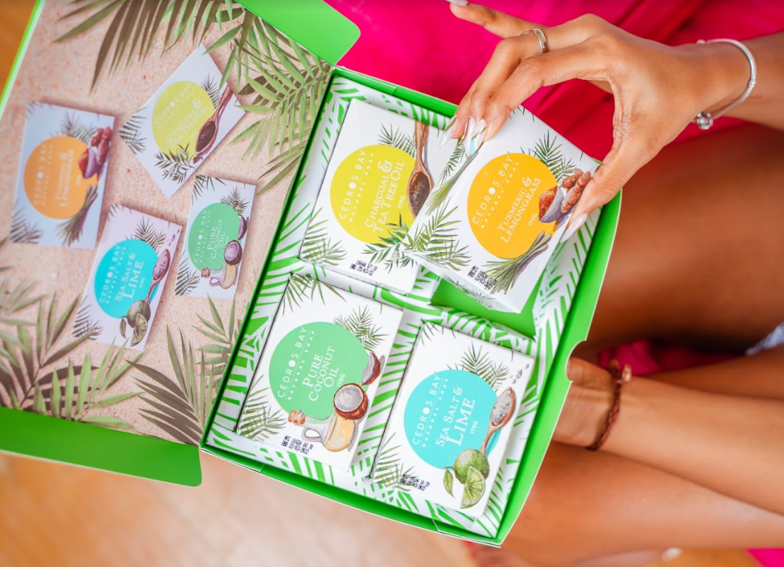 Caribbean Escape Soap Set Review by Maturing Mama