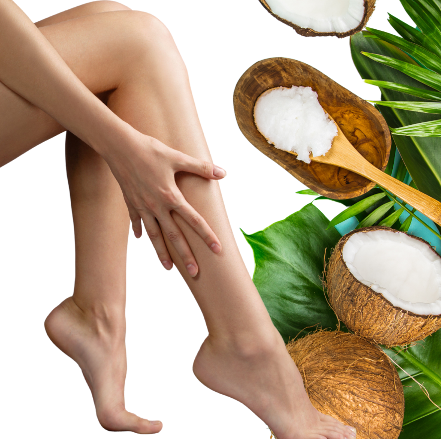 At-home Coconut Oil recipes to help treat psoriasis